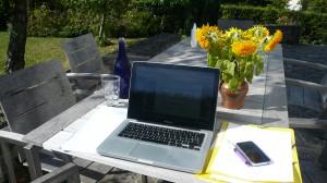 Mon bureau d'été