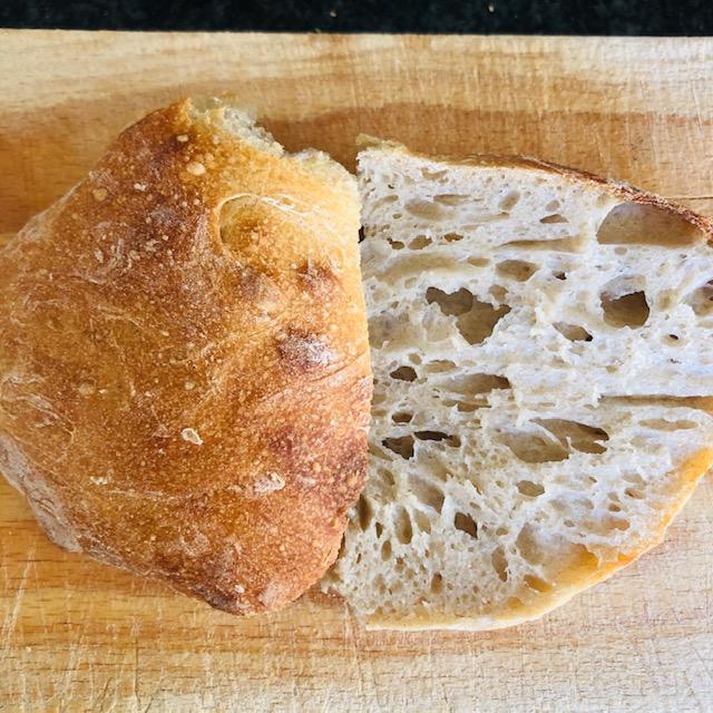 Petit pain au levain maison