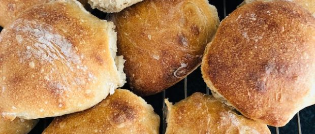 Petits pain au levain maison